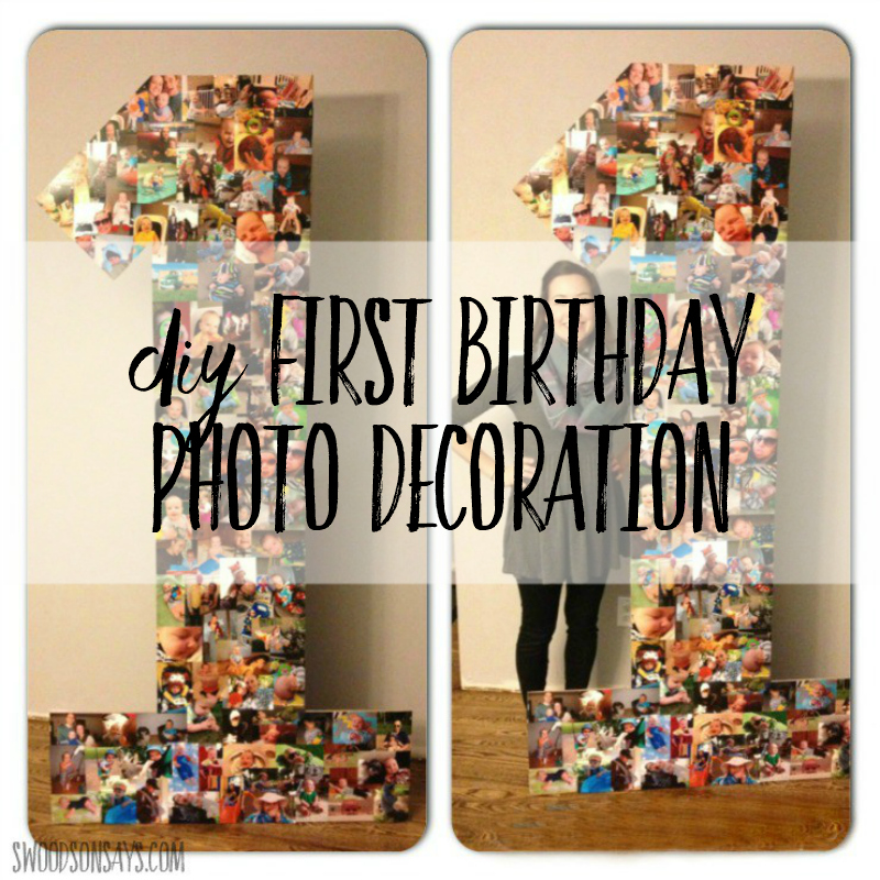 Diy Creative Photo Collage For Birthday Party Swoodson Says