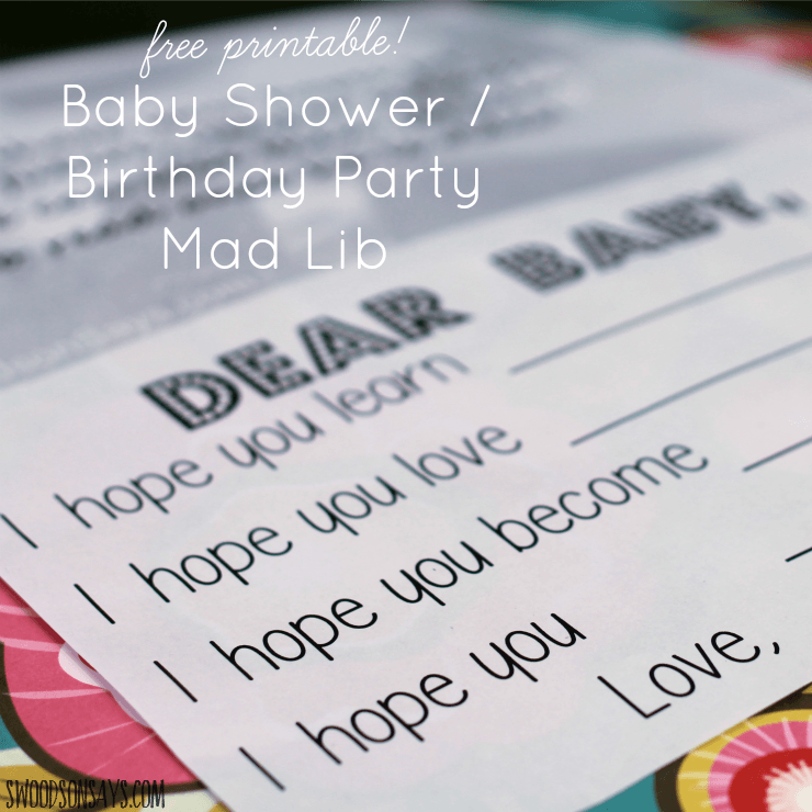 image regarding Mad Libs Online Printable Free titled 1st Birthday Bash Little one Nuts Lib with Absolutely free Printable Document