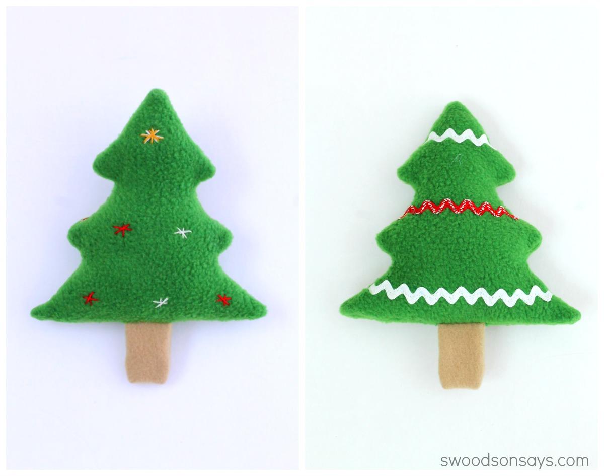 Free Christmas Tree Softie
