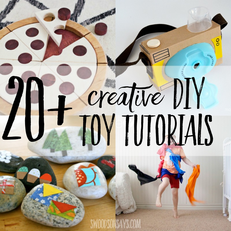20+ creative toys to make for kids