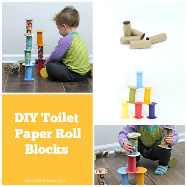 Diy recycled toilet paper roll building blocks swoodson says for Recycling toilet paper tubes