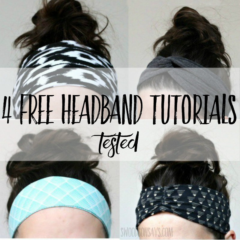 How to sew a headband – 4 tutorials, tested!