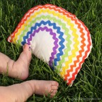 diy rainbow baby toy