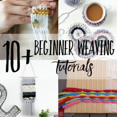 10+ weaving tutorials for beginners
