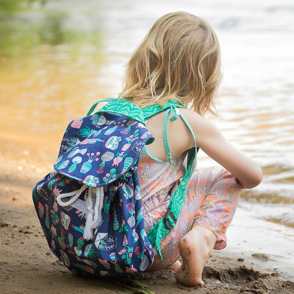 Little Collector Backpack - Swoodson Says. A Kid-sized Backpack With Details That Are Easy For Little Hands To Manipulate. A Mesh Bottom & Pocket Allows The Dirt To Fall Through The Bottom And Stay Outside!