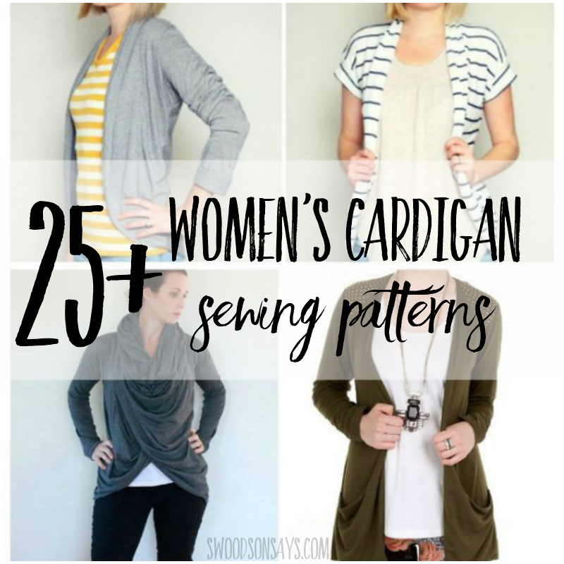 25 Cardigan Patterns To Sew Swoodson Says