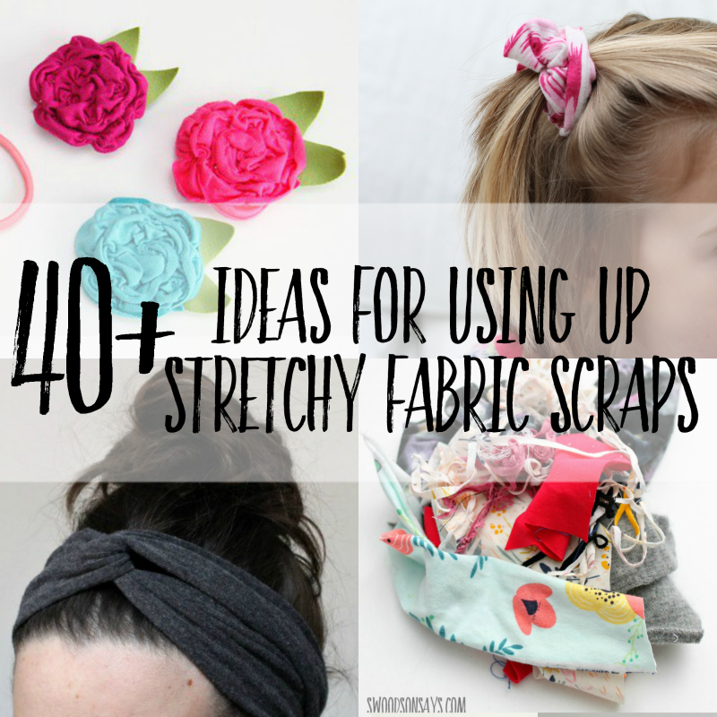 40+ Ideas for Using Up Knit Fabric Scraps