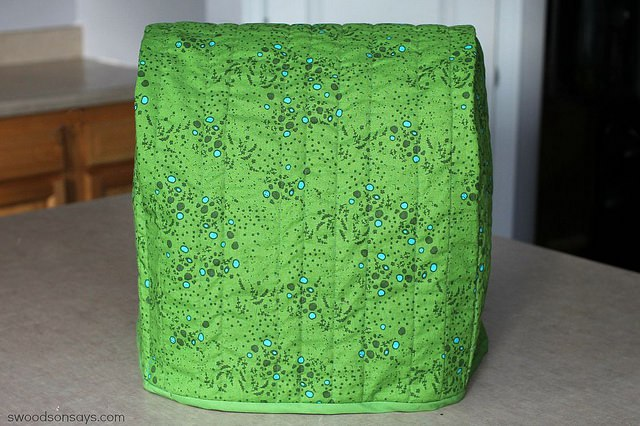 how to sew a kitchenaid mixer cover