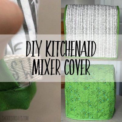 kitchenaid mixer cover pattern