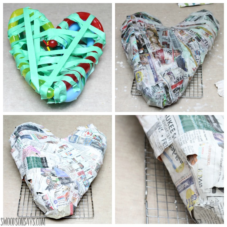Steps to make paper mache 28 images paper mache for Best way to paper mache a balloon