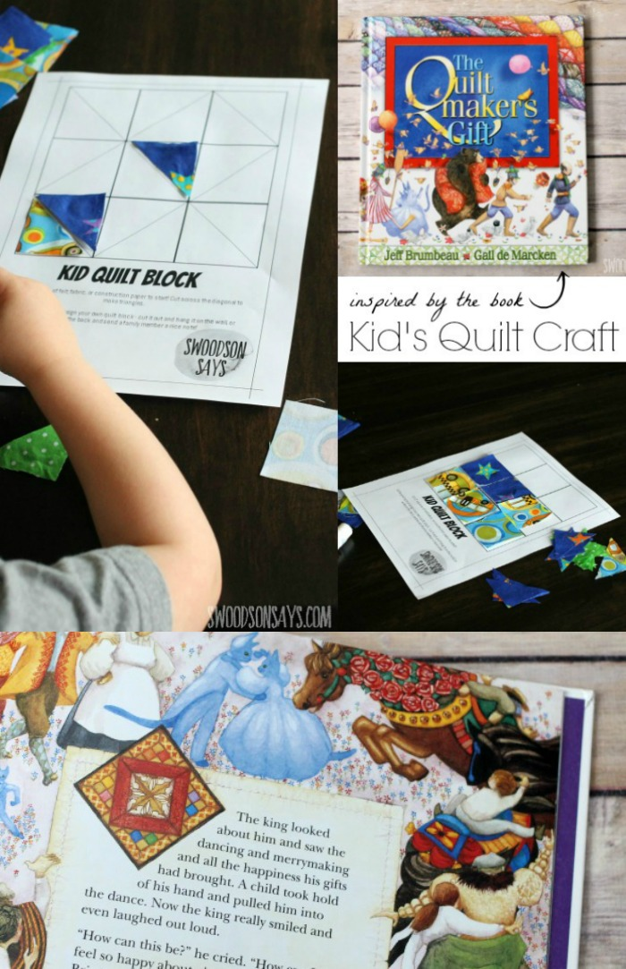 kids quilt craft from the quiltmakers gift book