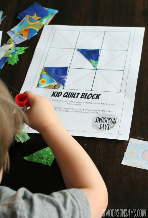 preschool glue activity