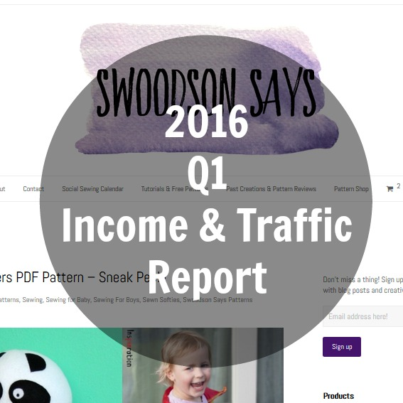 What happens if you coast? 2016 Q1 Income & Traffic Report
