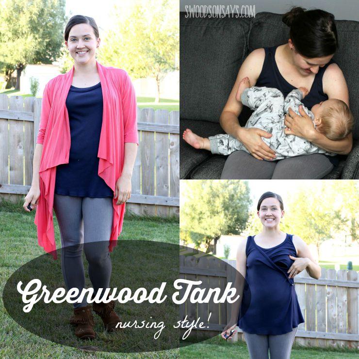 Greenwood Tank – Remix The Stitch with Straight Stitch Designs!