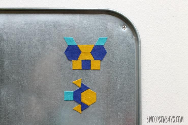 geo pattern magnets