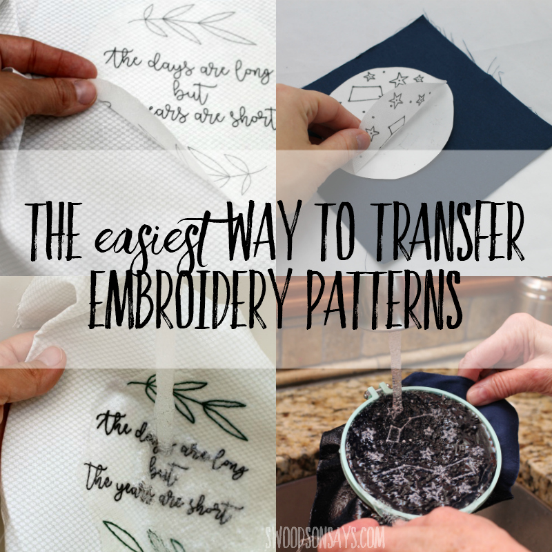 image relating to Printable Embroidery Transfer Paper named Trick for how towards go embroidery routines