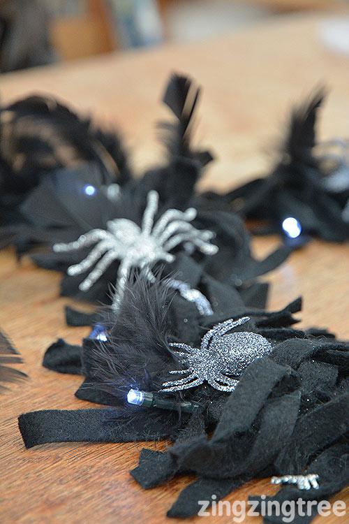 black-felt-halloween-garland