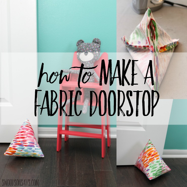 How To Make A Round Fabric Door Stop Round Designs