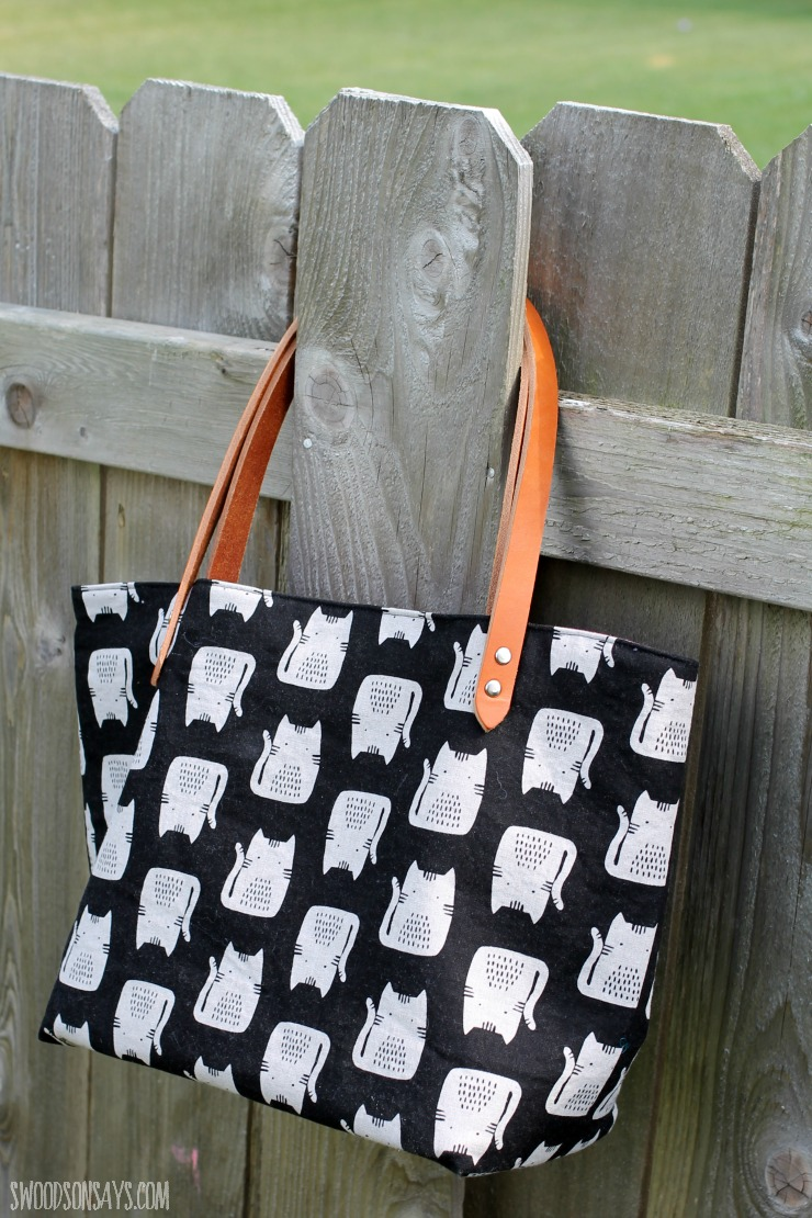 DIY Canvas Tote Bag - Swoodson Says