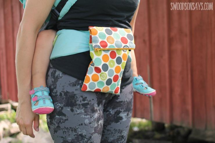 babywearing pouch belt
