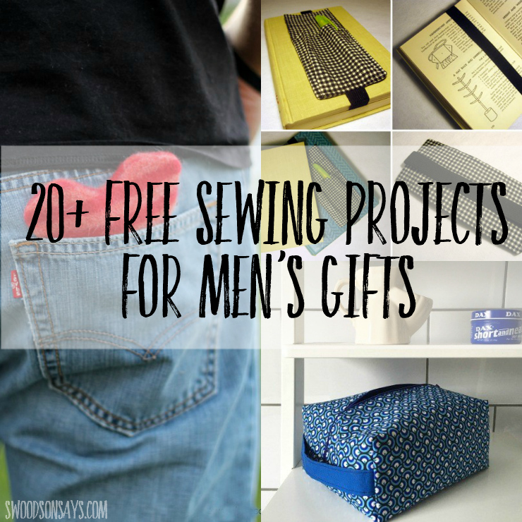 Free sewing projects for men s gifts swoodson says