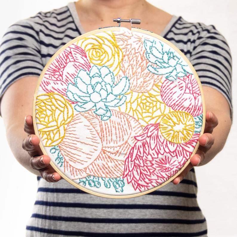 bright floral kit