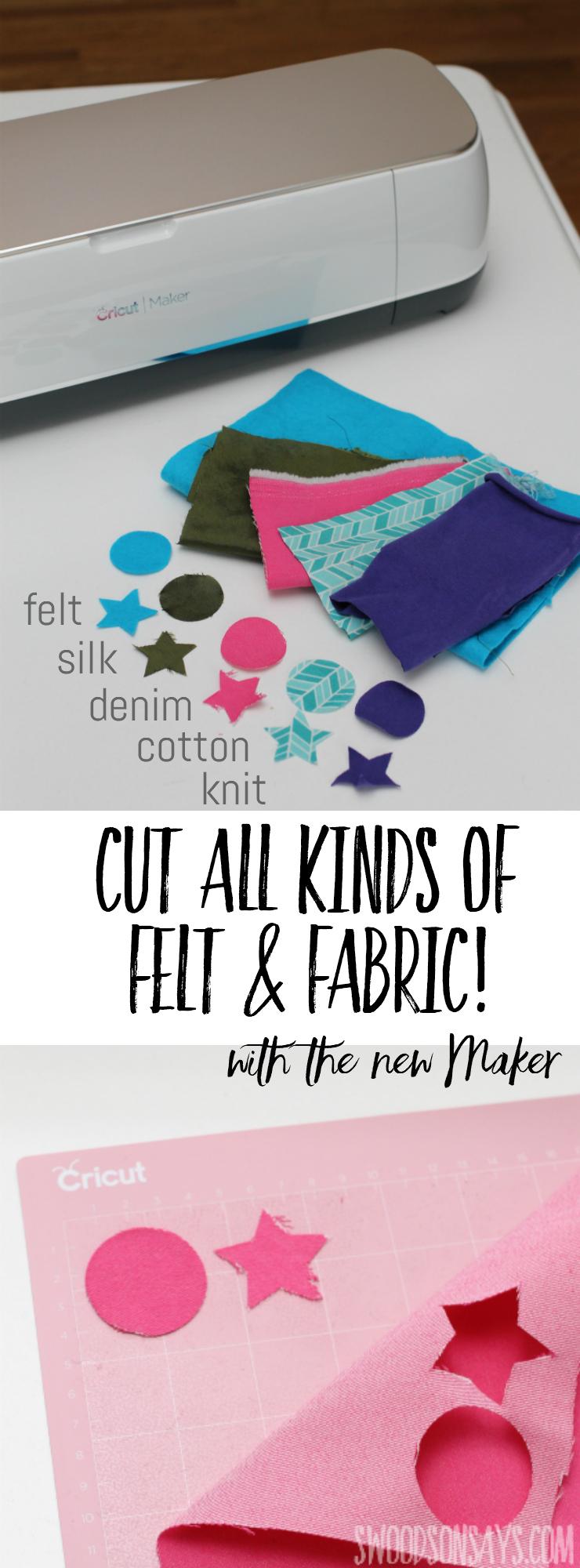 Cricut Maker Review - It Cuts Fabric! - Swoodson Says