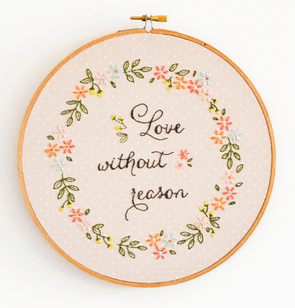 image relating to Free Printable Embroidery Patterns titled 15+ Free of charge Hand Embroidery Layouts - Swoodson States