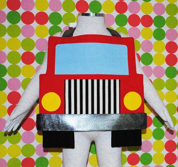 Truck bib sewing pattern