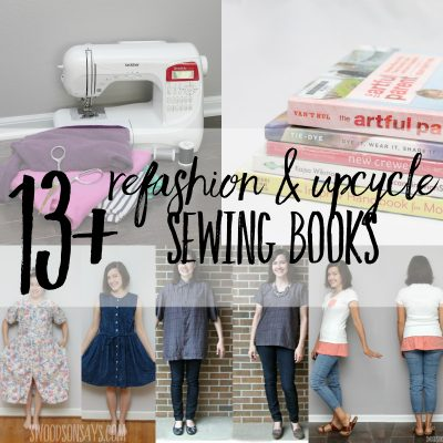 Books on refashioning clothing & upcycle sewing