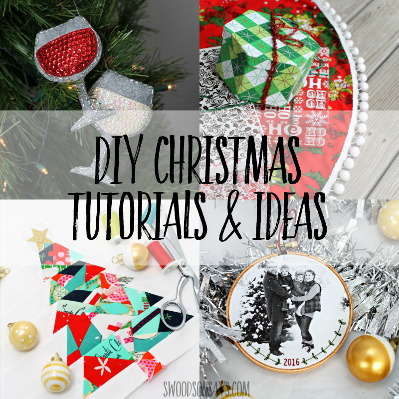 diy christmas craft tutorials and sewing patterns free