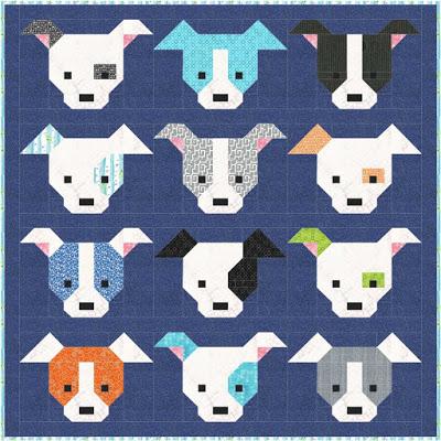 free dog quilt pattern