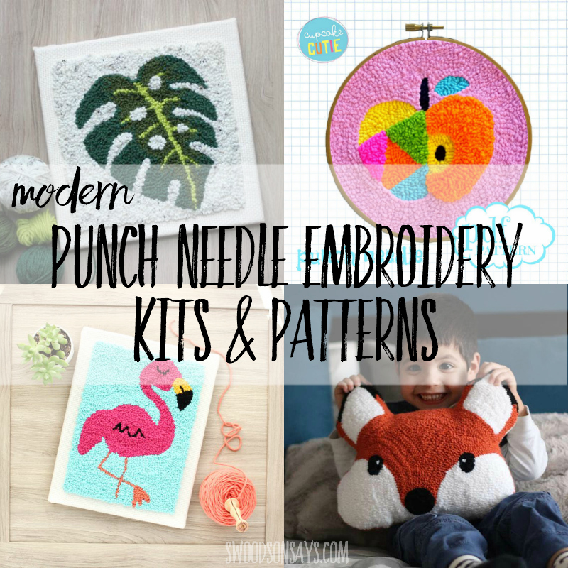 photograph about Free Printable Punch Needle Patterns titled Impressive punch needle kits models - Swoodson States