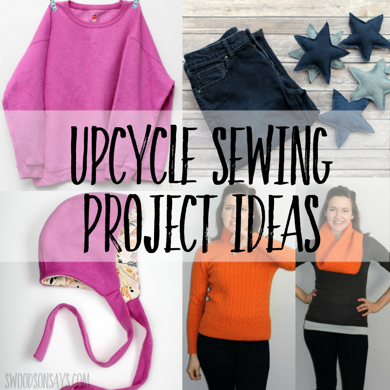 upcycle sewing projects