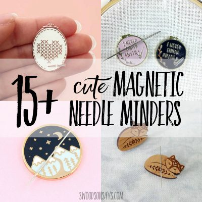 magnetic needle holder ideas