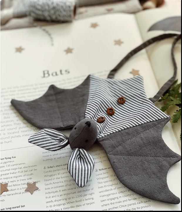 bat stuffed animal pattern