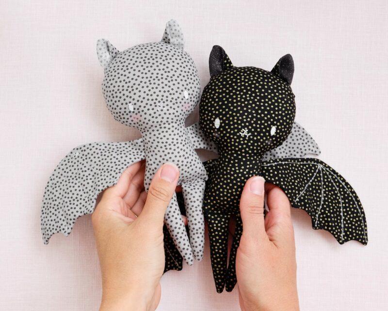 bat stuffie pattern