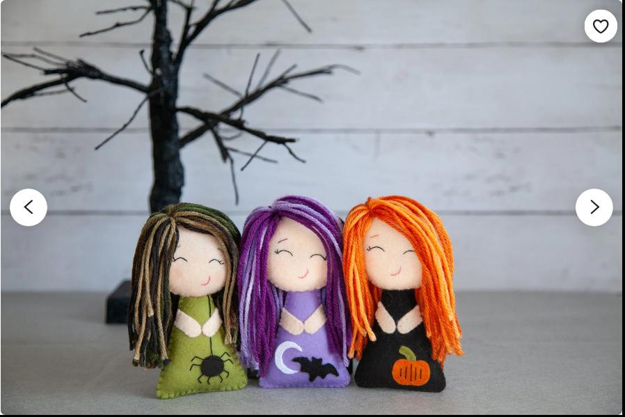 felt halloween doll pattern