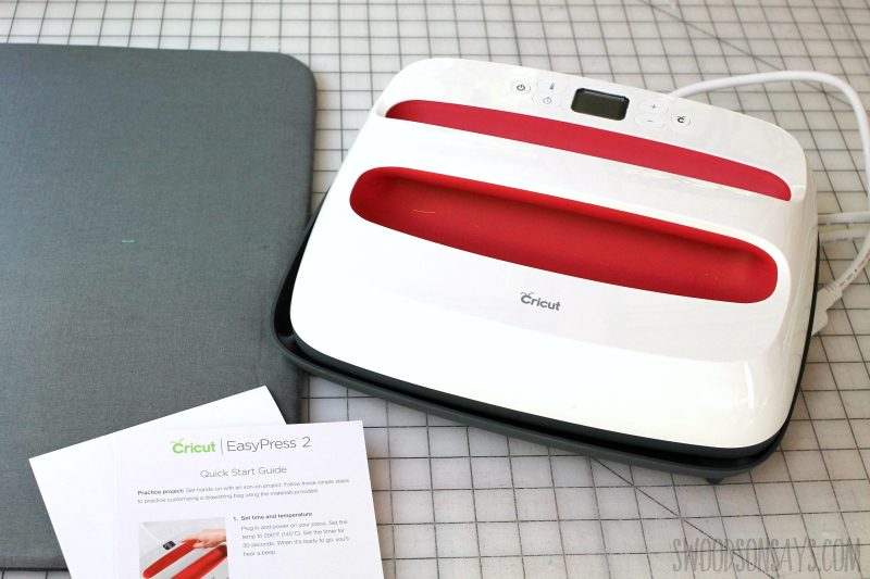 new easy press big iron from cricut