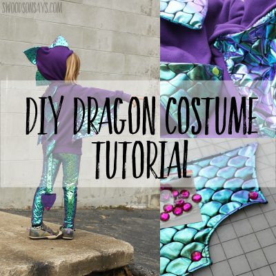 Dragon wings costume diy tutorial