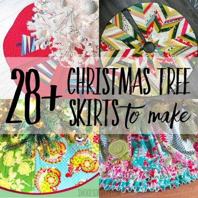christmas tree skirts to make