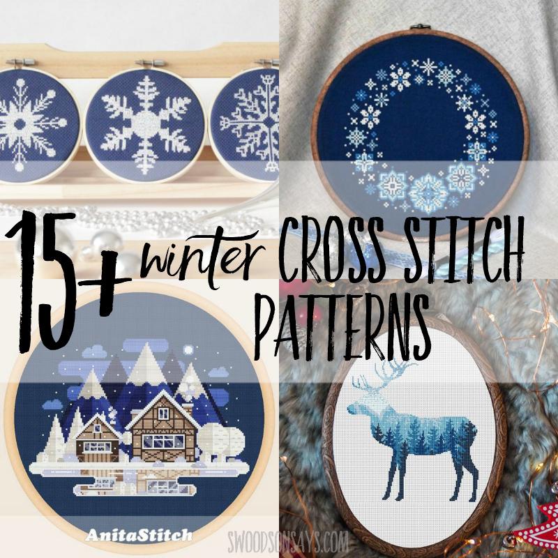 winter cross stitch patterns