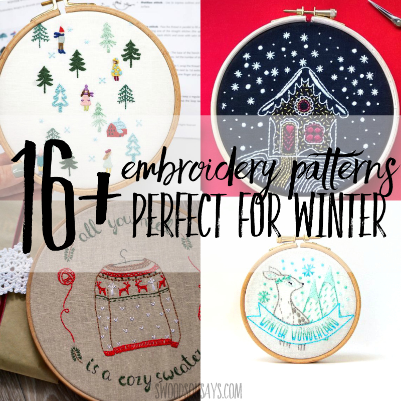 free hand embroidery christmas designs