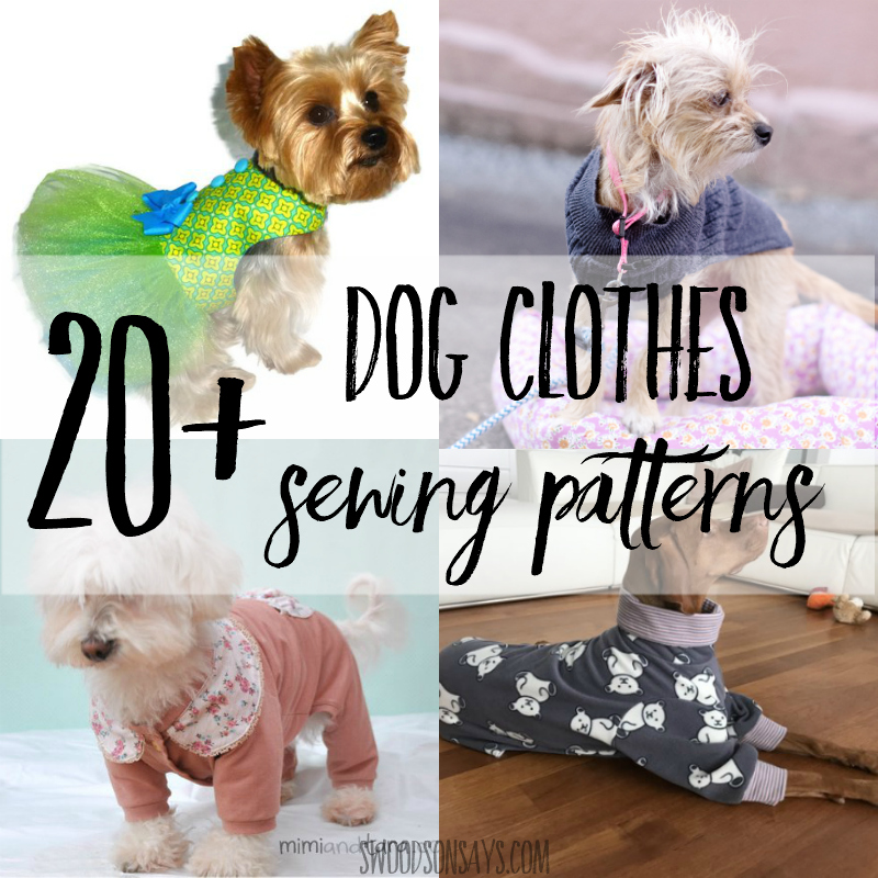 graphic relating to Printable Sewing Patterns titled Cutest paid out cost-free printable puppy outfits behavior - Swoodson
