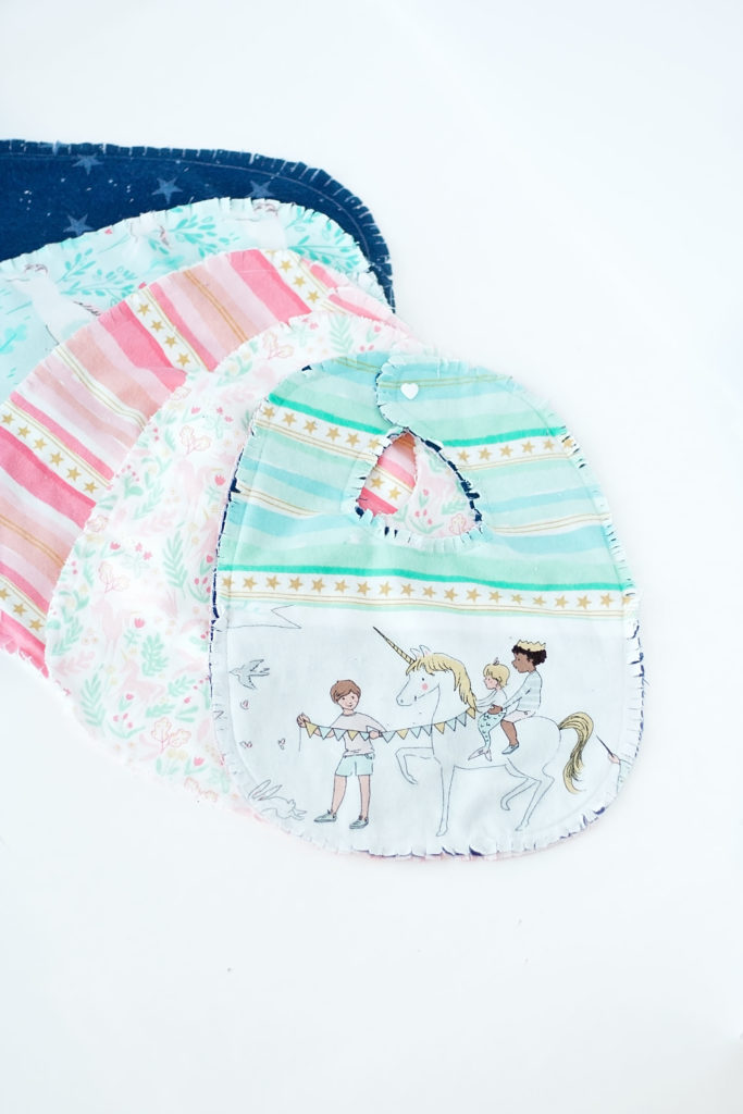 flannel baby bib free pattern