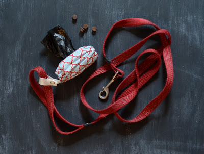 how to sew a dog poop bag holder