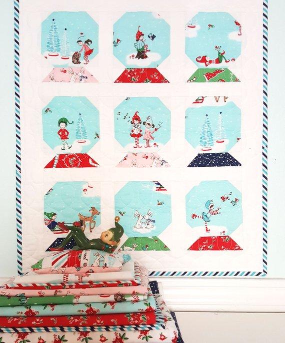 snowglobe quilt pattern