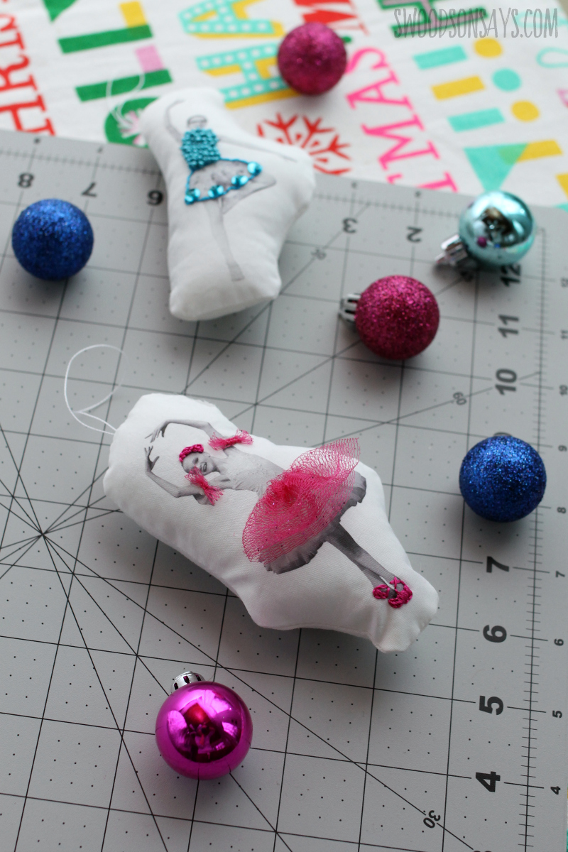 diy ballerina ornament tutorial