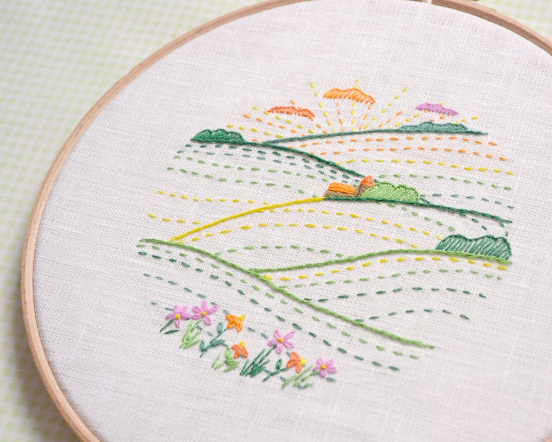 Hand Embroidery Designs Simple Flowers Easy Embroidery