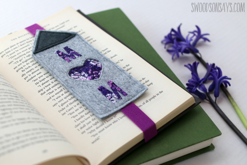 felt bookmark tutorial